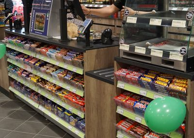 Priory View, Dunstable - Bespoke Retail Counter (Costcutter)